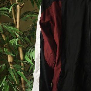 tek gear Jackets & Coats - VINTAGE RED WHITE AND BLACK WINDBREAKER